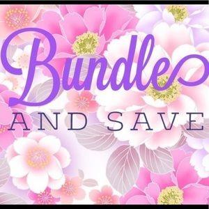 Bundle items to save!